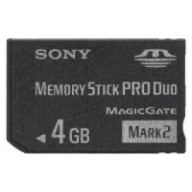 Sony MSMT4GN memoria flash 4 GB MS Pro Duo
