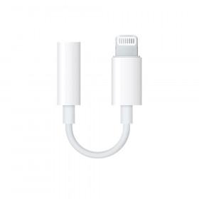 Apple MMX62ZM/A Lightning 3.5mm Bianco cavo di interfaccia e adattatore