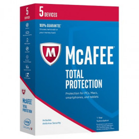McAfee 2017 Total Protection Full license 1utente(i) 1anno/i ITA