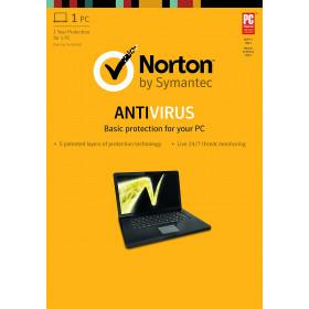 Symantec Norton AntiVirus Basic Base license 1utente(i) 1anno/i