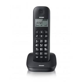 Brondi GALA Telefono DECT Nero Identificatore di chiamata