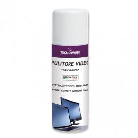Tecnoware FOE17303 kit per la pulizia Spruzzo per la pulizia dell'apparecchiatura LCD/TFT/Plasma 200 ml