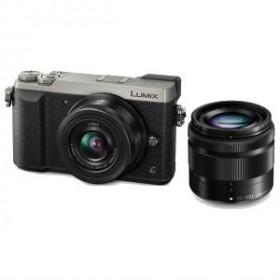 Panasonic Lumix DMC-GX80 + H-FS35100 Kit fotocamere SLR 16 MP Live MOS 4592 x 3448 Pixel Nero, Argento