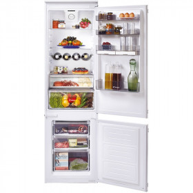 Candy CKBBS 174 FT frigorifero con congelatore Incasso Bianco 250 L A++