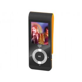 Trevi 0M172809 lettore e registratore MP3/MP4 Lettore MP4 Nero, Arancione