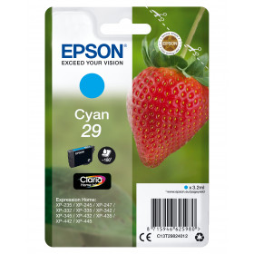 Epson Strawberry Cartuccia Fragole Ciano Inchiostri Claria Home 29