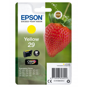 Epson Strawberry Cartuccia Fragole Giallo Inchiostri Claria Home 29