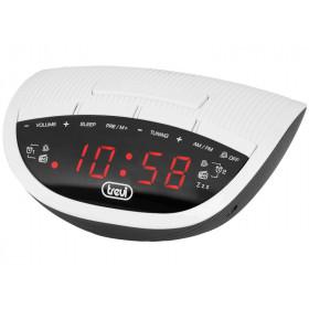 Trevi RC 825 D Orologio Analogico e digitale Nero, Bianco radio