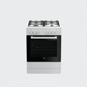 Beko FSST62110DW Libera installazione Piano cottura a gas Bianco cucina