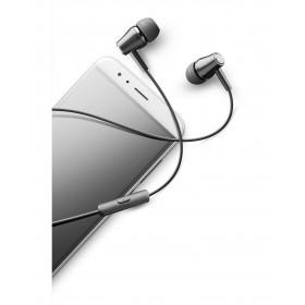 Cellularline Voice In Ear - Universale Auricolari perfect fit in-ear Nero