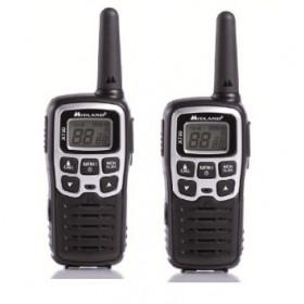 Midland XT50 ricetrasmittente 24 canali 446.00625 - 446.0937 MHz Nero, Grigio