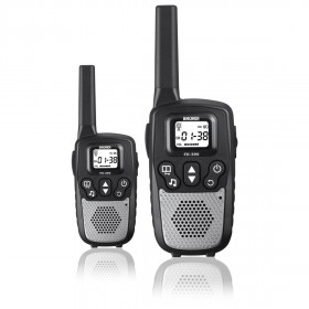 Brondi FX-390 ricetrasmittente 8 canali 446 MHz Nero, Argento