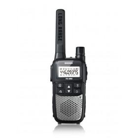 Brondi FX-490 ricetrasmittente 8 canali 446 MHz Nero, Argento