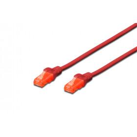 ASSMANN Electronic DK-1617-020/R cavo di rete 2 m Cat6 U/UTP (UTP) Rosso