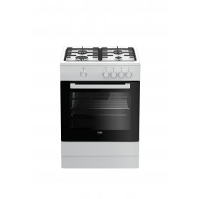 Beko FSG62000DW Libera installazione Piano cottura a gas A Bianco cucina