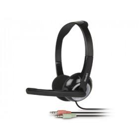 Hamlet Smart Headset cuffia per computer con microfono regolabile connesione jack 3.5mm