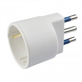 Poly Pool PP0432 Tipo L (IT) Tipo L (IT) Bianco adattatore per presa di corrente