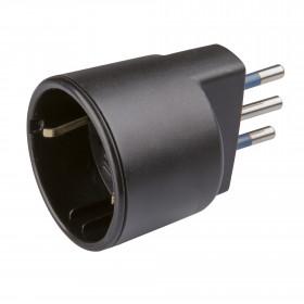 Poly Pool PP0433.1 Tipo L (IT) Tipo L (IT) Nero adattatore per presa di corrente