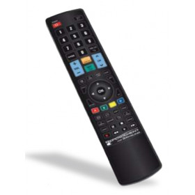 G.B.S. Elettronica REPLACEMENT FOR SAMSUNG telecomando IR Wireless Nero Pulsanti