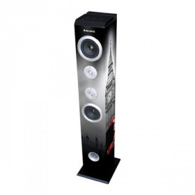 New Majestic TS-85 BT USB SD AX altoparlante 60 W Nero, Bianco