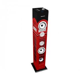 New Majestic TS-85 BT USB SD AX altoparlante 60 W Nero, Rosso Con cavo e senza cavo 3.5mm/Bluetooth