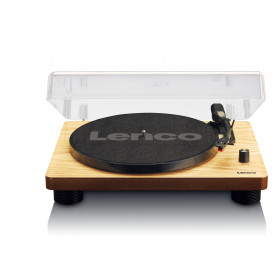 Lenco LS-50 Giradischi con trasmissione a cinghia Legno