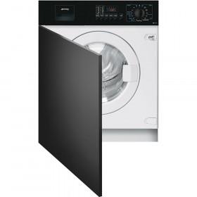 Smeg LBA10N-2 lavatrice Incasso Caricamento frontale Nero, Bianco 7 kg 1000 Giri/min A++