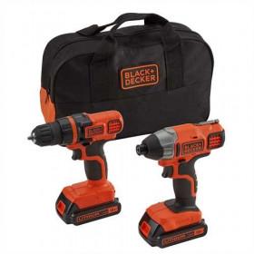 Black & Decker BDCDDIM18B trapano Senza chiave Nero, Arancione