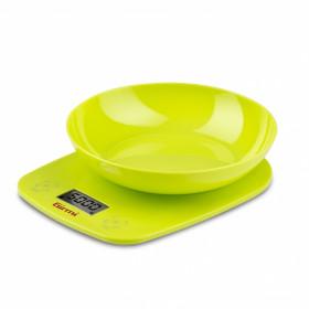 Girmi PS01 Bilancia da cucina elettronica Verde Superficie piana Rotondo