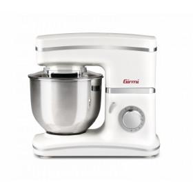 Girmi IM30 Gastronomo Sbattitore con base 1300W Acciaio inossidabile, Bianco
