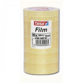 TESA 57388-00001-00 nastro adesivo da cancelleria 66 m Trasparente 10 pezzo(i)