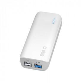 SBS TTBB5200UF batteria portatile Bianco Ioni di Litio 5200 mAh