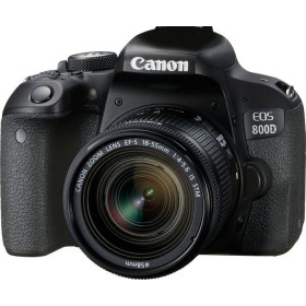 Canon EOS 800D + EF-S 18-55mm 4.0-5.6 IS STM Kit fotocamere SLR 24.2MP CMOS 6000 x 4000Pixel Nero