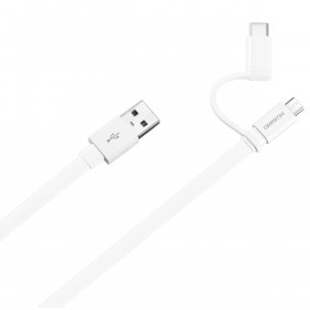 Huawei 4071417 1.5m USB A Maschio Maschio Bianco cavo USB