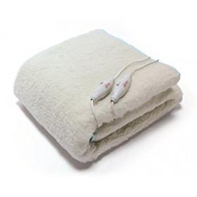 Ardes FC-0422 Riscaldaletto elettrico 120W Lana Bianco coperta/cuscino elettrico