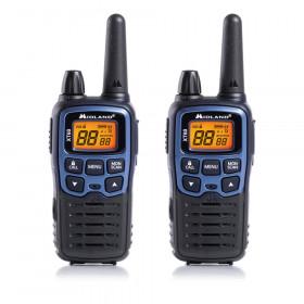 Midland XT60 ricetrasmittente 24 canali 446.00625 - 446.0937 MHz Nero, Blu
