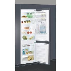 Indesit B 18 A1 D S/I frigorifero con congelatore Da incasso Acciaio spazzolato 275 L A+