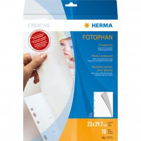 HERMA 7571 230 x 297 mm Cartoncino 1pezzo(i) foglio di protezione