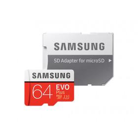 MICRO SD EVO PLUS 64 GB XC, UHS I GRADO 3, 100-60 MB/s, ADATTATORE SD INCLUSO