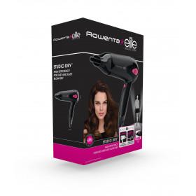 Rowenta Studio Dry Elite CV5372 Nero, Rosa 1700 W