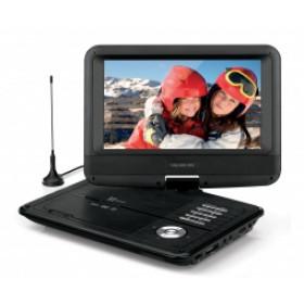 """Telesystem TS5052 DVB-T2 HEVC Lettore DVD portatile Convertibile Nero 22,9 cm (9"""")"""