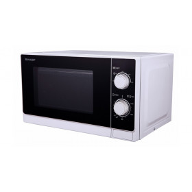 Sharp R-600WW Piano di lavoro Microonde combinato 20L 800W Nero, Bianco forno a microonde
