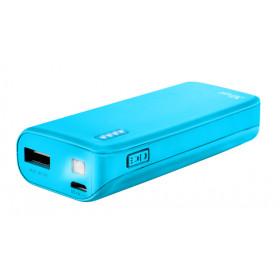 Trust PRIMO Ioni di Litio 4400mAh Blu batteria portatile