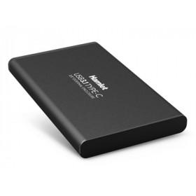 Hamlet Box esterno USB 3.1 Tyce-C per Hard Disk SATA 2,5 in alluminio