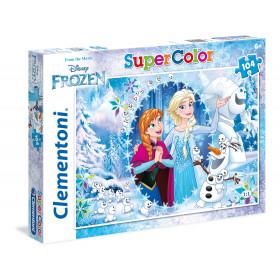 Clementoni Frozen, PZL 104 Puzzle 104 pezzo(i)