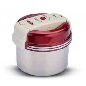 Ariete 630 10W Rosso, Acciaio inossidabile, Bianco macchina per gelato