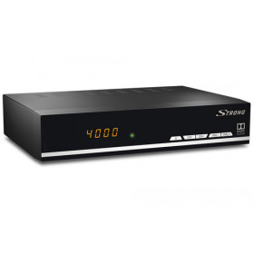 Strong SRT 7007 Satellite Full HD Nero set-top box TV