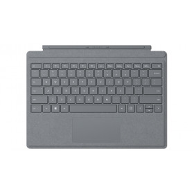 Microsoft Surface Pro Signature Type Cover tastiera per dispositivo mobile Platino Microsoft Cover port