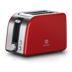 Electrolux EAT7700R tostapane 2 fetta/e Rosso, Argento 850 W