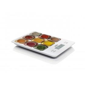 Laica KS1040 bilancia da cucina Bilancia da cucina elettronica Multicolore, Bianco Da tavolo Rettangolo